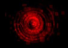 ψηφιακό κόκκινο ανασκόπησ&e Στοκ Εικόνες