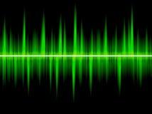 ψηφιακό κύμα Διανυσματική απεικόνιση