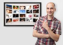Ψηφιακό λεύκωμα φωτογραφιών στοκ φωτογραφίες με δικαίωμα ελεύθερης χρήσης