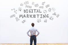 Ψηφιακό μάρκετινγκ στοκ εικόνα με δικαίωμα ελεύθερης χρήσης