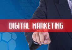 Ψηφιακό μάρκετινγκ Στοκ εικόνες με δικαίωμα ελεύθερης χρήσης
