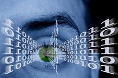 ψηφιακό μάτι Στοκ εικόνες με δικαίωμα ελεύθερης χρήσης