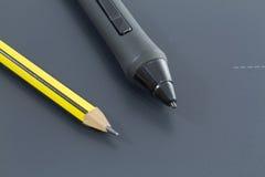 ψηφιακό μολύβι στοκ εικόνες
