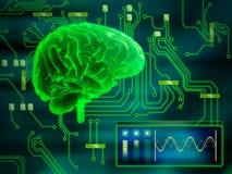 ψηφιακό μυαλό Στοκ Φωτογραφία