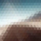 Ψηφιακό μωσαϊκό εικονοκυττάρου τριγώνων Στοκ Φωτογραφίες