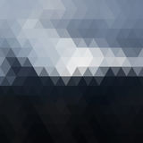 Ψηφιακό μωσαϊκό εικονοκυττάρου τριγώνων Στοκ φωτογραφίες με δικαίωμα ελεύθερης χρήσης