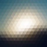 Ψηφιακό μωσαϊκό εικονοκυττάρου τριγώνων Στοκ Φωτογραφία