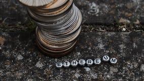 Ψηφιακό νόμισμα Ethereum Στοκ φωτογραφία με δικαίωμα ελεύθερης χρήσης