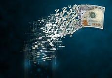 Ψηφιακό δολάριο Στοκ Φωτογραφίες