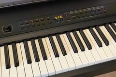 Ψηφιακό πληκτρολόγιο πιάνων Στοκ Εικόνες