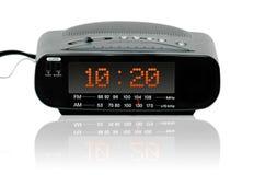 ψηφιακό ραδιόφωνο ρολογ&io στοκ εικόνες