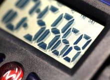 Ψηφιακό ρολόι Στοκ εικόνα με δικαίωμα ελεύθερης χρήσης