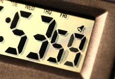 Ψηφιακό ρολόι Στοκ Εικόνες