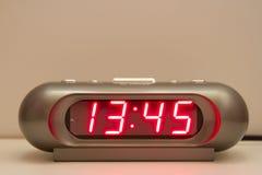 Ψηφιακό ρολόι Στοκ εικόνες με δικαίωμα ελεύθερης χρήσης