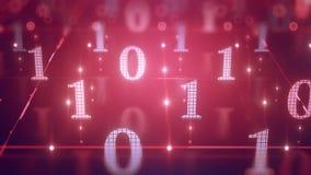 Ψηφιακό σκηνικό 8k UHD υποβάθρου στοιχείων κώδικα υπολογιστών ελεύθερη απεικόνιση δικαιώματος