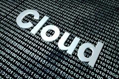 Ψηφιακό σύννεφο Στοκ φωτογραφία με δικαίωμα ελεύθερης χρήσης