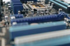 Ψηφιακό τσιπ μητρικών καρτών Υπόβαθρο επιστήμης τεχνολογίας δεδομένου ότι το χαρτόνι ανασκόπησης μπορεί να βραχυκυκλώσει τη χρήση Στοκ εικόνες με δικαίωμα ελεύθερης χρήσης