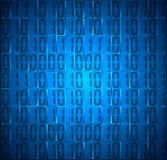 Ψηφιακό υπόβαθρο κώδικα δεκαεξαδικού έννοιας τεχνολογίας Στοκ Φωτογραφίες