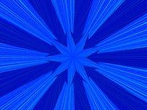 Ψηφιακό υπόβαθρο με τα μπλε βέλη Στοκ εικόνες με δικαίωμα ελεύθερης χρήσης