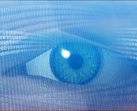 ψηφιακό όραμα διανυσματική απεικόνιση