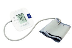 Ψηφιακό όργανο ελέγχου πίεσης του αίματος στοκ εικόνα