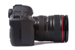 ψηφιακό slr φωτογραφικών μηχ&alpha Στοκ φωτογραφία με δικαίωμα ελεύθερης χρήσης