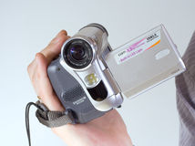 ψηφιακό videocamera Στοκ φωτογραφίες με δικαίωμα ελεύθερης χρήσης