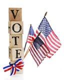 Ψηφοφορία, Αμερική. Στοκ Εικόνες