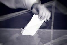 Ψηφοφορία, εκλογές στοκ εικόνα