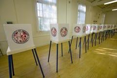 Ψηφοφορία των στάσεων για την του Κογκρέσου εκλογή στοκ εικόνα με δικαίωμα ελεύθερης χρήσης