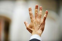 Ψηφοφορία χεριών Στοκ Φωτογραφίες