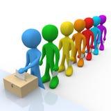 ψηφοφορία Στοκ εικόνα με δικαίωμα ελεύθερης χρήσης