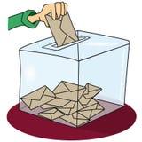 ψηφοφορία Στοκ Εικόνα