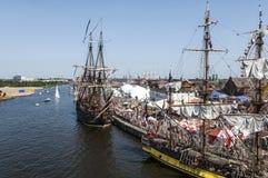 Ψηλές φυλές 2013 σκαφών Στοκ εικόνα με δικαίωμα ελεύθερης χρήσης