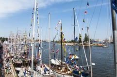 Ψηλές φυλές 2013 σκαφών Στοκ Φωτογραφία