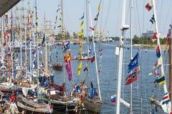 Ψηλές φυλές 2013 σκαφών Στοκ εικόνες με δικαίωμα ελεύθερης χρήσης
