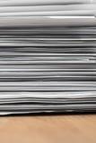 Σωρός των εγγράφων στοκ εικόνες με δικαίωμα ελεύθερης χρήσης