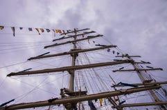 Ψηλοί ιστοί σκαφών Στοκ εικόνες με δικαίωμα ελεύθερης χρήσης