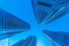 Ψηλοί ουρανοξύστες μαρινών του Ντουμπάι στα Ε.Α.Ε. Στοκ εικόνες με δικαίωμα ελεύθερης χρήσης