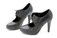 Ψηλοτάκουνα παπούτσια γυναικών. στοκ φωτογραφίες