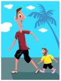 Ψηλός και νάνος Στοκ εικόνα με δικαίωμα ελεύθερης χρήσης