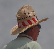 Ψηλό καπέλο κάουμποϋ σε Jazzfest Στοκ φωτογραφία με δικαίωμα ελεύθερης χρήσης