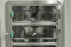 Ψυγείο δοκιμής στο βιο εργαστήριο Στοκ Εικόνα