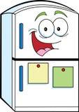 Ψυγείο κινούμενων σχεδίων απεικόνιση αποθεμάτων