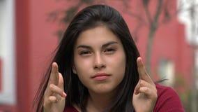 Ψυχικό κορίτσι ή διανοητικός απόθεμα βίντεο