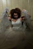 Ψυχο γυναίκα Στοκ φωτογραφίες με δικαίωμα ελεύθερης χρήσης
