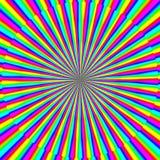 Ψυχο σύσταση στροβίλου hypno πολύχρωμη ελεύθερη απεικόνιση δικαιώματος