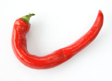 ψυχρό κόκκινο πιπεριών Στοκ Φωτογραφίες