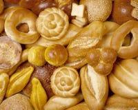 ψωμί ανασκόπησης στοκ φωτογραφία