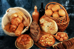 ψωμί ανασκόπησης Στοκ εικόνα με δικαίωμα ελεύθερης χρήσης